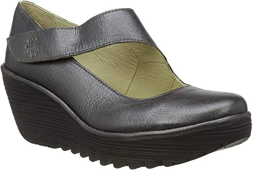 FLY London Womens YASI682FLY Graphite Clog - 42