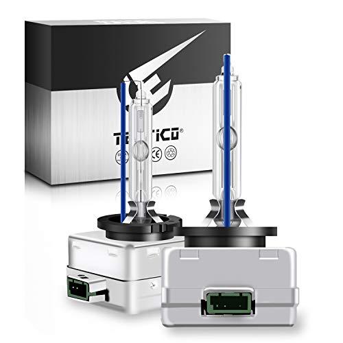 TECTICO D3S Xenon Brenner 35W 8000K Ultra Cool Blau Extreme Vision mehr Helligkeit 12V Auto HID Scheinwerfer Birne Autolampe Lampe, 2 Stücke