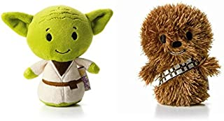 Hallmark Star Wars Itty Bitty Set of 2 Yoda and Chewbacca Soft Toys