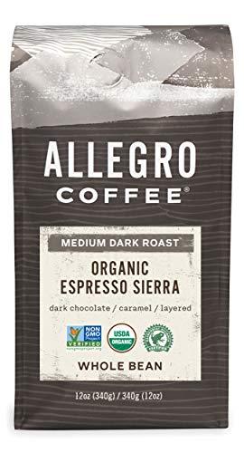 Allegro Whole Bean Espresso Coffee 12oz