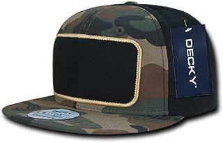 DECKY 1096-WWB Patch Snapback,  WDL/blk,  Woodland/Woodland/Black