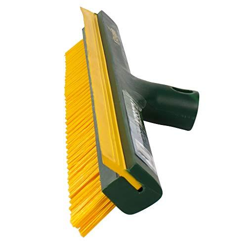 Gardi Rex Tegelbezem 42 cm | Voegenbezem met rubberen lip voor huis en tuin | ideale straatbezem met extra harde borstelharen