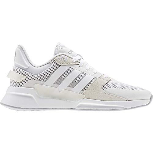 adidas Run 90s White/White/Grey Two 14 🔥