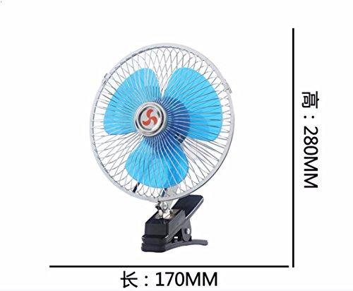 JISHUQICHEFUWU Ventilateur/Voiture avec Un Petit Ventilateur/Ventilateur Rotatif/pièces Auto, N, 12V