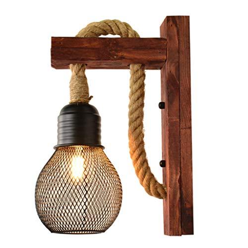lámpara pared madera fabricante LXHSY