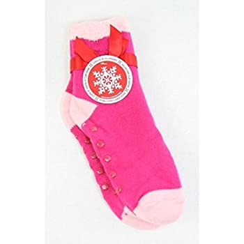 Bath & Body Works Accessories Double Layer Shea Socks - Bright Pink