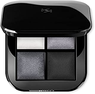 KIKO MILANO - Bright Quartet Baked Eyeshadow Palette 04 Palette with four baked eyeshadows for wet and dry use