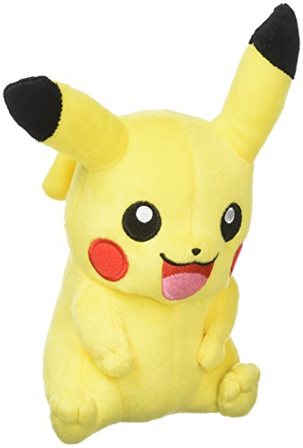 Tomy Pikachu Plüsch - Hochwertiges Pokémon Stofftier - Zum Spielen und Sammeln - ab 3 Jahre