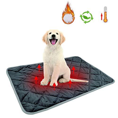 Manta de Perro, Manta térmica para Mascotas, Manta autocalentable para Gatos &...