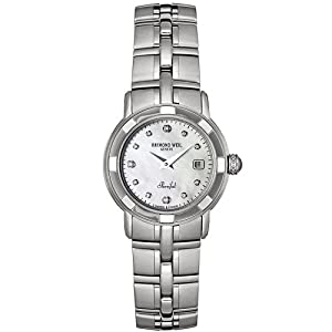 Raymond Weil Women's 9441-ST-97081 Parsifal Diamond Accented Stainless Steel Watch