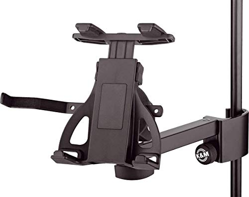 1. K&M Tablet Holder for Mic Stand