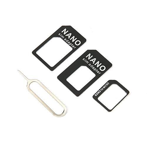 SENZHILINLIGHT 3 en 1 para Adaptador Sim y para Adaptador Micro Sim y para Micro Adaptador con Aguja para Dispositivos móviles