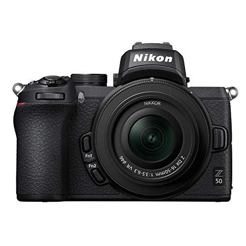 Nikon ミラーレス一眼カメラ Z50 レンズキット NIKKOR Z DX 16-50mm f 3.5-6.3 VR付属 Z50LK16-50 ブラック