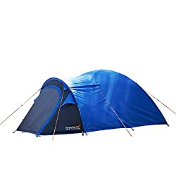 2 man capacity Waterproof Hydro fort 70D flysheet with 3000mm hydrostatic head Spacious porch with waterproof bathtub PE design Inner first pitching allows the tent to be used without the flysheet Strong and flexible fibreglass poles