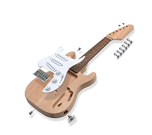 StewMac Mini S-Style Electric Guitar Kit | Amazon