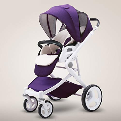 Buy Bargain JIAX Baby Stroller, Convertible Reclining Stroller, Foldable and Portable Pram Carriage ...