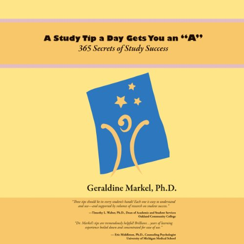 A Study Tip a Day Gets You an 'A' audiobook cover art