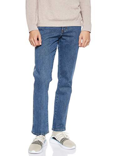 Wrangler Texas Contrast, Jeans con la Gamba Dritta, Uomo, Blu (Stonewash 010), 33W / 36L