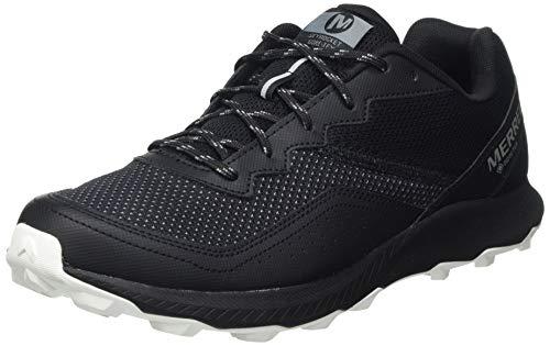 Merrell Skyrocket GTX, Zapatillas para Carreras de montaa Hombre, Negro (Black/Black), 41.5 EU