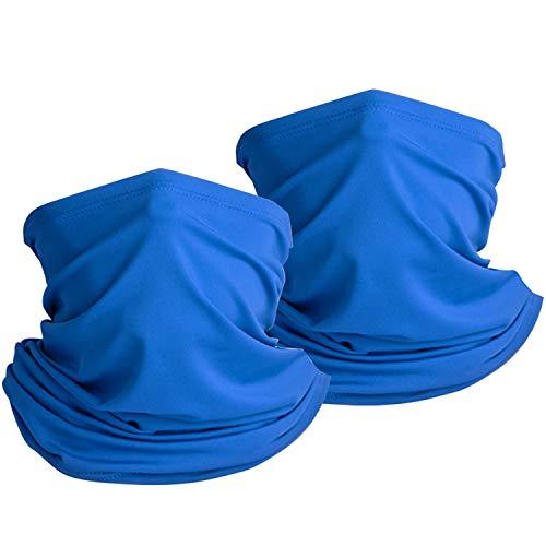 onehous Sommer Halstuch Schlauchtuch, Schlauchschal Multifunktionstuch Dünn Sommer Atmungsakt Motorrad Mundschutz Halstuch UV Schutz Gesichtsmaske