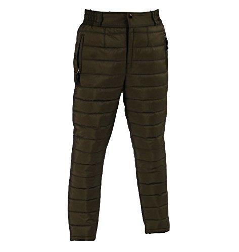 ウミネコ 防寒ジャンパー ダウン パンツ メンズ ごるふ おおきいサイズ かっこいい たためる 人気 01 カーキ XXL