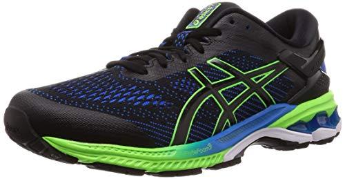Asics Gel-Kayano 26, Zapatillas de Running Hombre, Negro (Black/Electric Blue 003), 45 EU