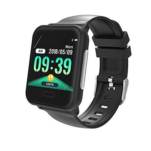 Lirui057 Fitnessarmbandhorloge, mannelijk en vrouwelijk, waterdicht IP67 ECG + PPG gecombineerd voor je hartslag, stappenteller, fitnesstracker, voor Android en iOS