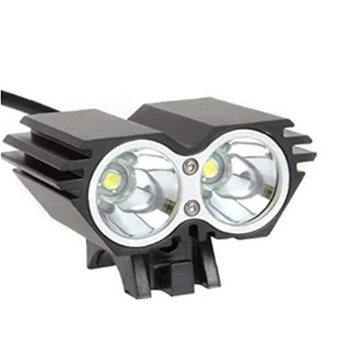 Fahrrad-licht-set, Super Bright Wiederaufladbare Fahrradbeleuchtung Mit 3 Lampes Fahrradlampe Und Sichere Rücklicht, Anti-glare Strahl, Fahrradleuchten Der Ideale Wahl