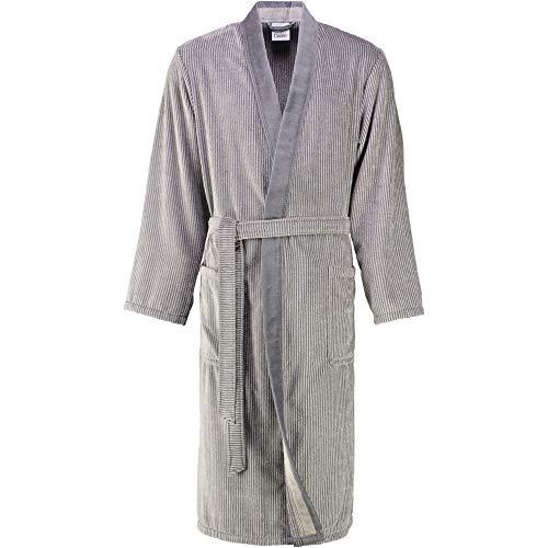 Cawö Herren Bademantel Saunamantel Velours Qualität Kimono Form Gr. 62-64