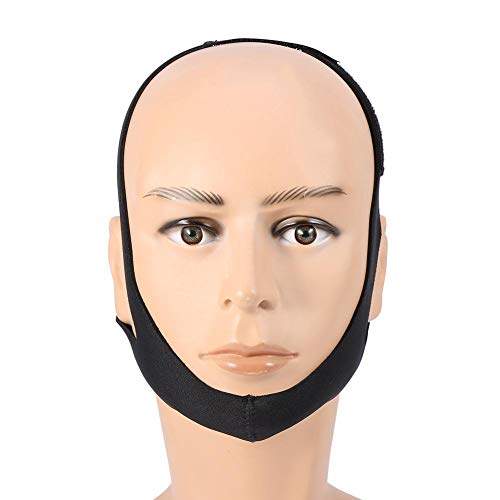 Duevin Stop Schnarchen Kinnriemen, schmerzfreie Face-Lifting-Bandage Anti-Schnarch-Gürtel Apnoe Jaw Support Solution Sleep
