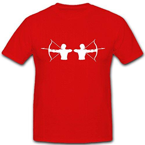 Boogsport boogschieten bescherming boogschutter sport jachtwapen - T-shirt #5555
