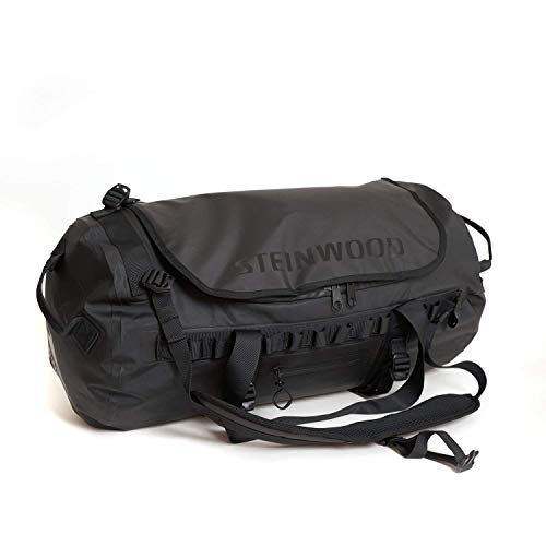 Steinwood Waterproof Duffle-Dry-Bag 50 L Multifunktions-Rucksack - Outdoor-Reisetasche -...