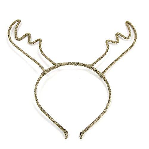 ZADAWERK® Haarreif - Reh - Bronze - Geweih - Rentier - Damen - Weihnachten