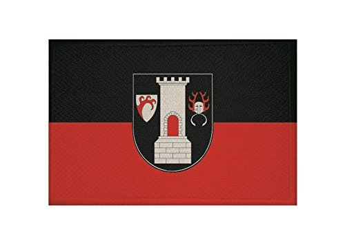 U24 Aufnäher Blankenburg (Harz) Fahne Flagge Aufbügler Patch 9 x 6 cm