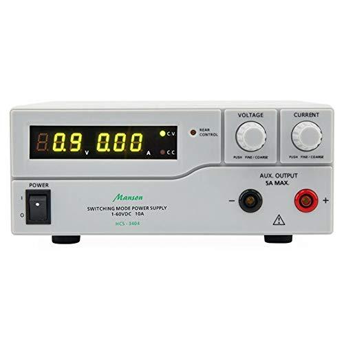 Manson Labornetzgerät HCS-3404 (1-60 V / 0-10 A), mit USB-Schnittstelle, programmierbar