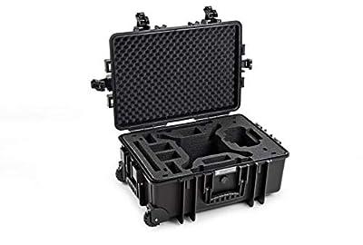 B&W International Type 6700 Outdoor Case with Removable Insert for DJI Phantom 4/4 PRO/4 PRO+/4 Advanced - Black