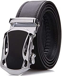 Black Leather Belt For Men