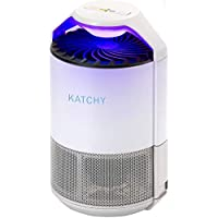 Katchy Indoor Insect and Flying Bugs Trap with UV Light Fan Sticky Glue Boards No Zapper