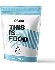 YFood Powder Coconut   Lactose- en glutenvrije maaltijdvervanger   17 porties, 26 vitaminen & mineralen   proteïnepoeder   smakelijke proteïneshake   1,5kg pakket