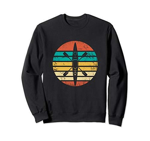 Retro Kajak Sport Geschenk I Kanu Kayak Kajaker Sweatshirt