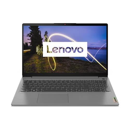 Lenovo IdeaPad 3 Laptop 39,6 cm (15,6 Zoll, 1920x1080, Full HD, WideView, entspiegelt) Slim Notebook (AMD Ryzen 5 5500U, 16GB RAM, 512GB SSD, AMD Radeon Grafik, Windows 10 Home) grau