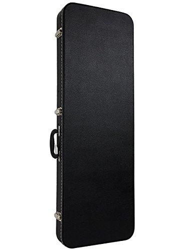 Gearlux Rectangular Electric Guitar Hard Case - Black