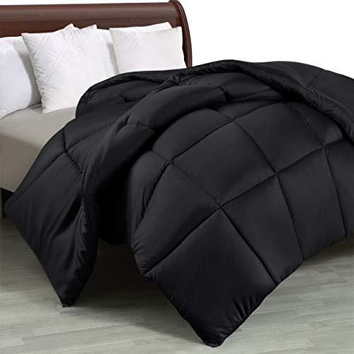 Utopia Bettdecke ohne Bezug, gesteppt und mit Ecklaschen, hypoallergen, Steppdecke mit Quadratsteppung