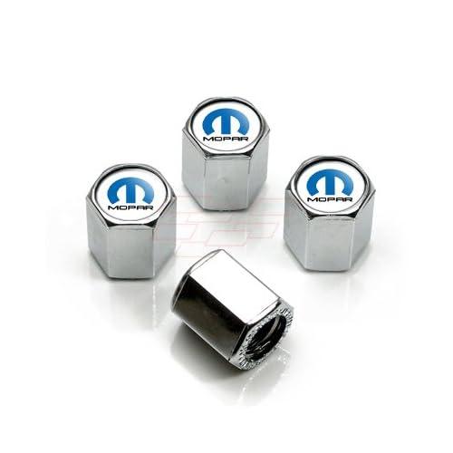 Chrome /& Black Jeep Valve Stem Caps Factory Mopar OEM New One Set