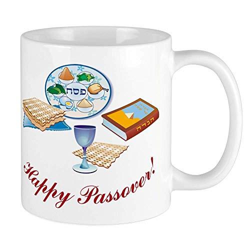N\A Pessach Tisch Kaffeetasse Tasse 11 Unzen Keramikbecher 330 ml, 330 ml