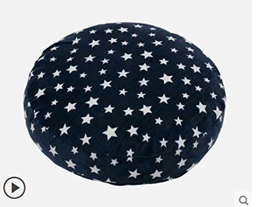 FKIHK SitzkissenStern gedruckt weichen großen Kissen Kissen runden Sitz Nickerchen Bett Lendenkissen Erker Tatami-Kissen, 2,40x40cm