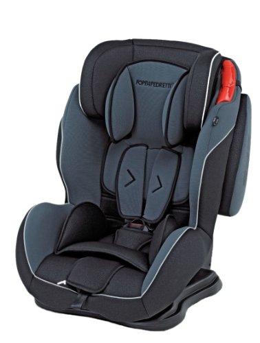 Foppapedretti 9700385100 Dinamyk 9-36 Seggiolino Auto per Bambini di 9-36 kg, Antracite