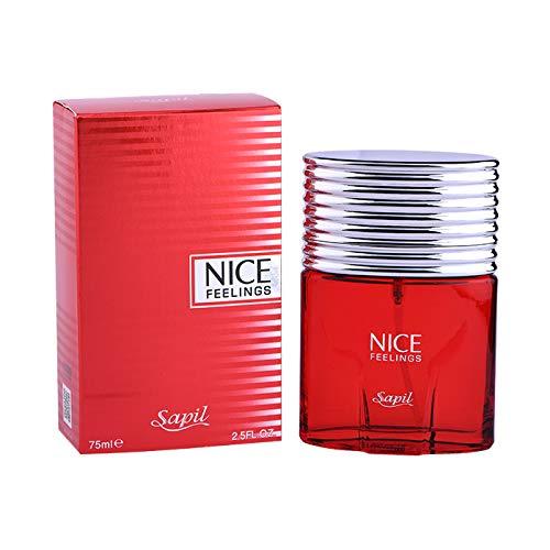 SAPIL Nice Feeling Red Men's- Perfume, 75Ml