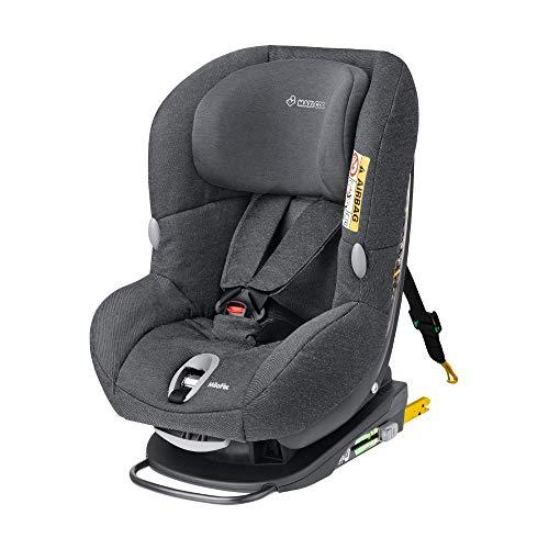 Maxi-Cosi MiloFix - Reboarder Kindersitz, Gruppe 0+ /1 (0-18 kg), Kinderautositz mit Isofix, sparkling grau