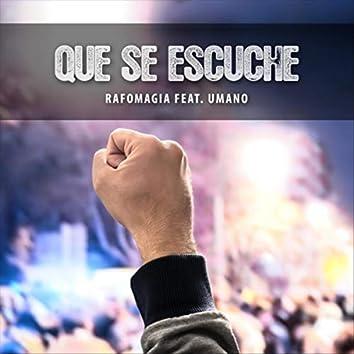Que Se Escuche (feat. Umano, Cenzi & Dejota Diego Yams)